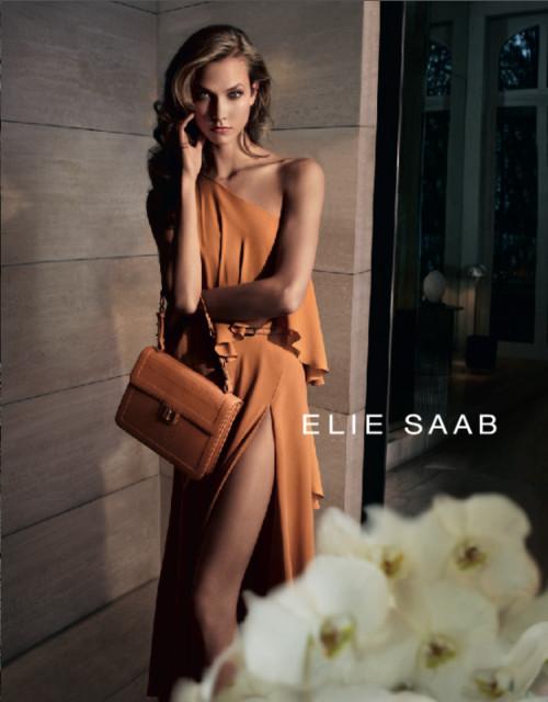 Кампания: Карли Клосс для Elie Saab SS 2012. Изображение № 1.