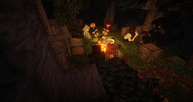 В Minecraft собрали Шир из «Властелина Колец» . Изображение № 10.