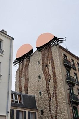 Очень крутой стрит-арт от Sandrine Estrade Boulet. Изображение № 13.