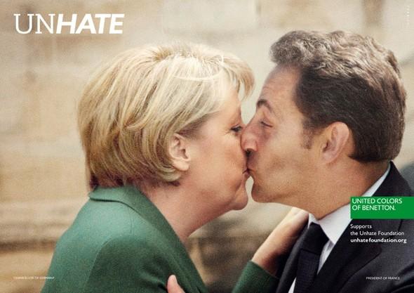 Кампания: Benetton Unhate. Изображение № 2.