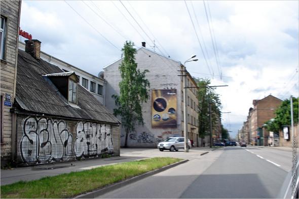 Стрит-арт и граффити Риги. Изображение № 2.