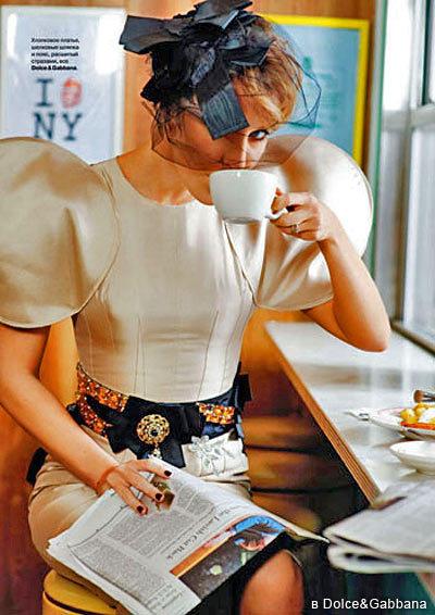 Ксения Собчак штурмует Нью-Йорк наобложке Tatler. Изображение № 2.