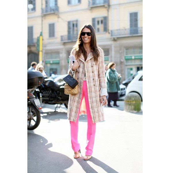 Изображение 81. На полях: 10 тенденций уличного стиля с прошедших недель моды.. Изображение № 81.