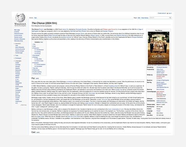 Дизайнеры предложили удобочитаемый редизайн «Википедии». Изображение № 1.