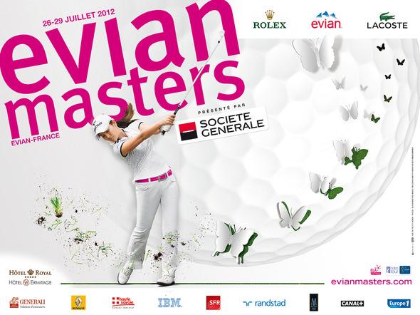 Evian®  вдохновляет женщин на победу на Эвиан Мастерс 2012. Изображение № 1.