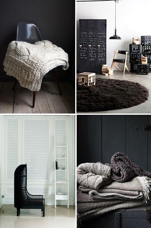 Black&white - 33 красивейших интерьера черно-белой гаммы. Изображение № 9.