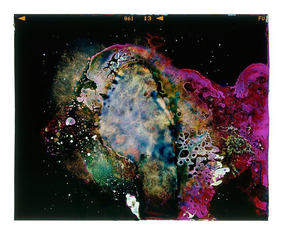Космические пейзажи, созданные бактериями . Изображение № 15.
