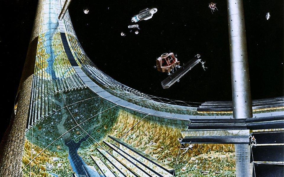 Рай не на земле: Какими в NASA представляли космические колонии будущего. Изображение № 4.