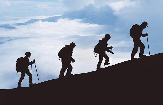 Головоломка на выходные: альпинисты и восхождение на вершину. Изображение № 3.