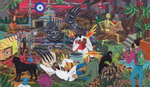 Босх 2.0: Иллюстрации-комиксы Брехта Ванденбрука. Изображение № 13.