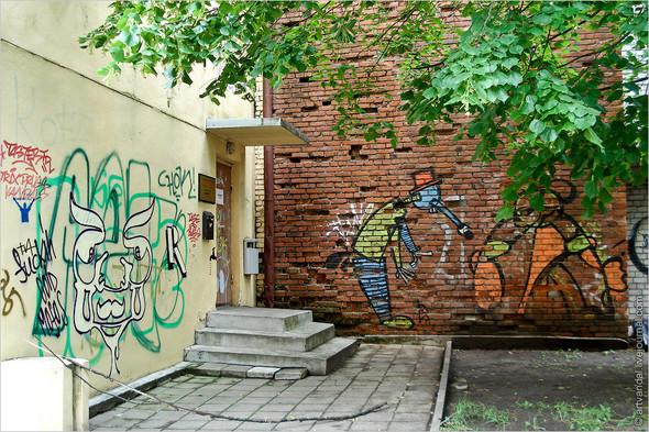 Стрит-арт и граффити Риги. Изображение № 8.