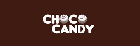 День шоколада. Вкусные шоколадные логотипы. Изображение № 26.