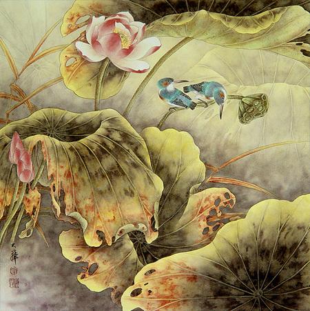 Птицы ицветы. Изображение № 11.