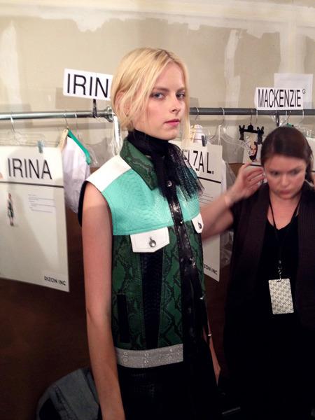 Дневник модели: Эксклюзив для Proenza Schouler на Нью-Йоркской неделе моды. Изображение № 36.