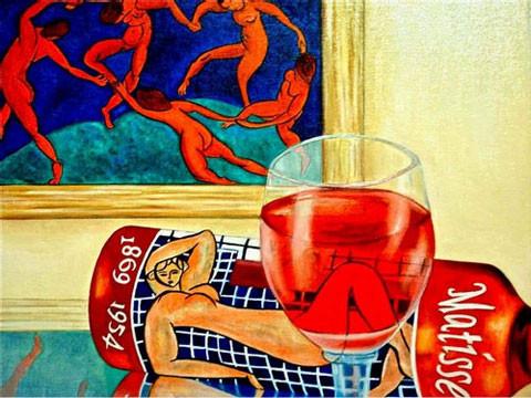 K. Madison Moore - знает толк в вине и живописи ХХ века. Изображение № 1.