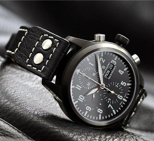 Steinhart Nav B-Chrono II black. 795 EUR (19% VAT incl.). Изображение № 60.
