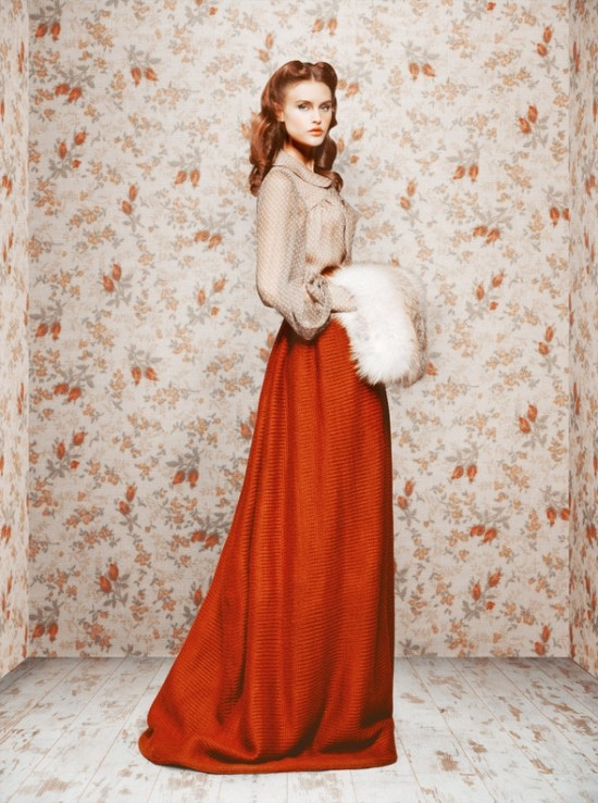 Коллекция осень-зима 2011/12 от Ульяны Сергиенко. Изображение №8.