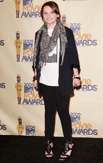 Наряды сMTV Movie Awards 2009. Изображение № 24.