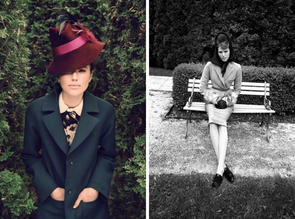 Съемка: Тэрин Дэвидсен для сентябрьского Elle Канада. Изображение № 4.