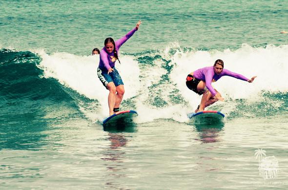 Surf Van Camp – деликатное полоскание с доской на Бали. Изображение № 8.