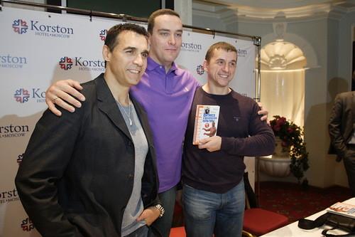 Эндриан Пол и Александр Невский в Korston Hotel Moscow. Изображение № 3.