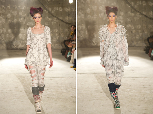 Japan Fashion Week AW 2010 - 2011. Изображение № 39.