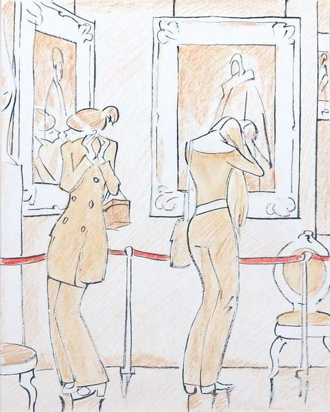 Леонид Сойфертис. рисунок, карикатура. Изображение № 20.