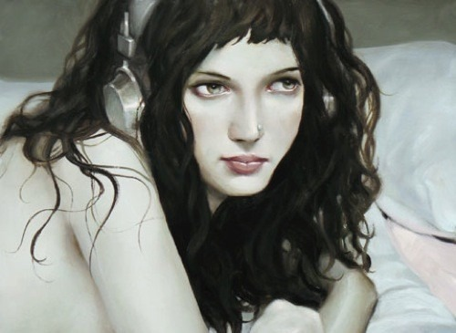Jonathan Viner – портреты красавиц внаушниках. Изображение № 1.