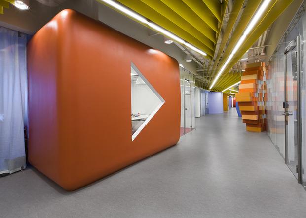 Появились фотографии нового офиса «Яндекса» в Санкт-Петербурге. Изображение № 2.