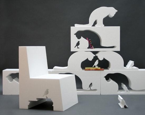 Котики в интерьере. Изображение № 3.