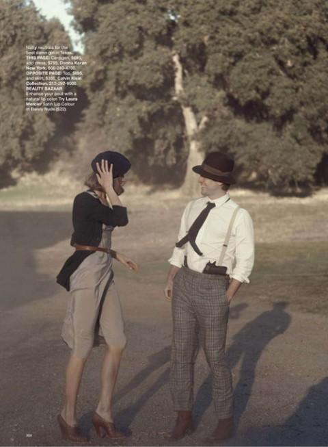 Бонни и Клайд в Harpers Bazaar. Изображение № 11.