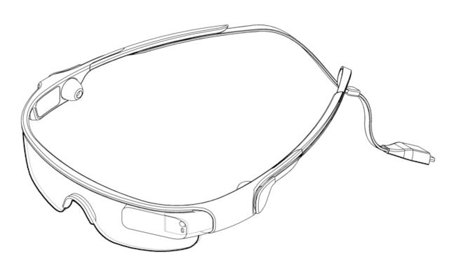 Samsung запатентовала спорт-очки. Изображение № 1.