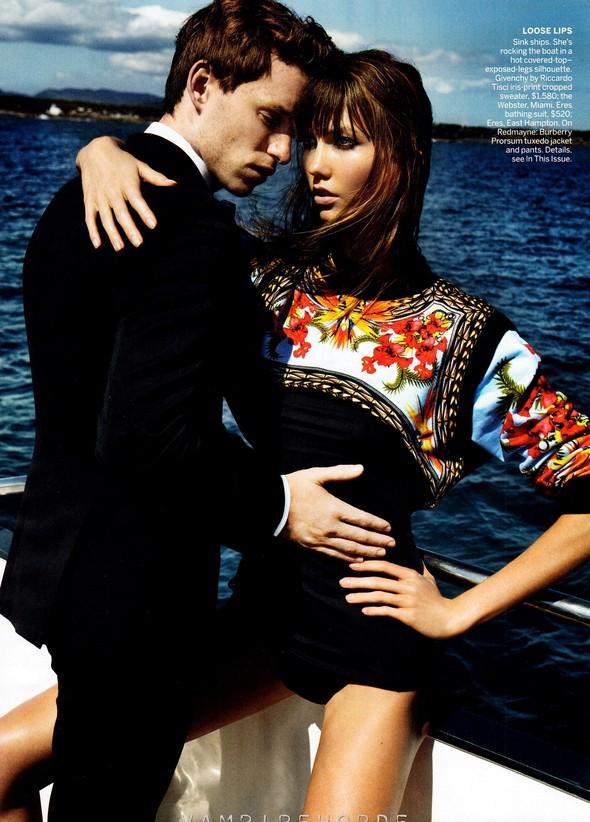 Съёмка: Карли Клосс для Vogue. Изображение № 11.