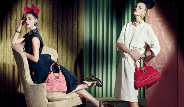 Вышли новые кампании Gucci, I am, Marella, Miu Miu, SLP и Versus. Изображение № 27.