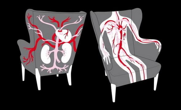 AK-LH элегантный анатомический дизайн. Изображение № 2.