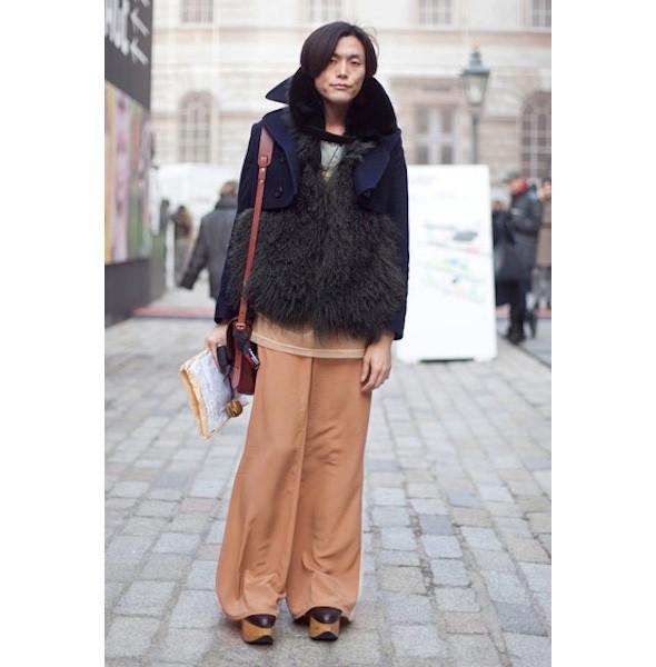 Изображение 140. На полях: 10 тенденций уличного стиля с прошедших недель моды.. Изображение № 140.