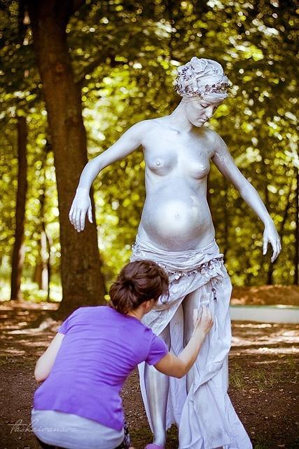 Обнаженная, античная, беременная. Изображение № 1.