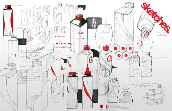 Новая классика. Бутылка Coca-Cola. Изображение № 1.