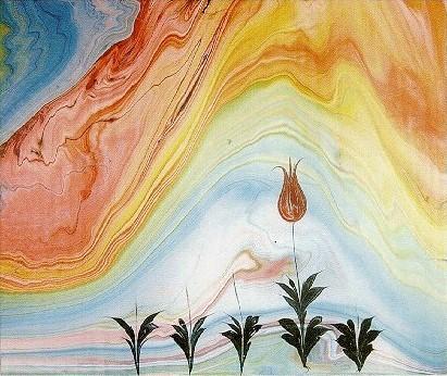 Эбру: рисунки на воде. Изображение № 1.
