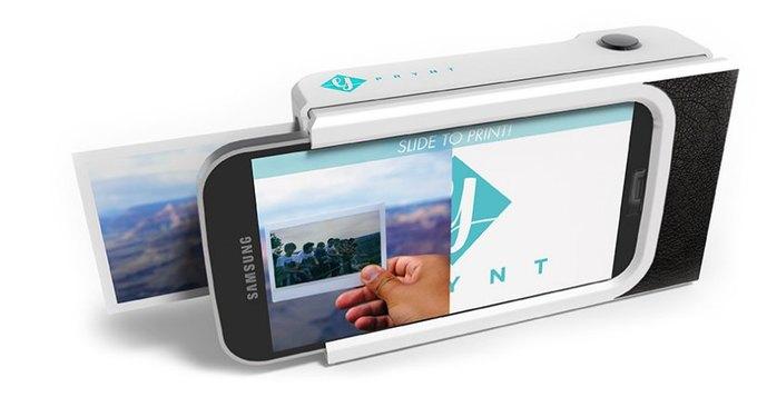 Концепт: чехол превращает смартфон в полароид. Изображение № 1.