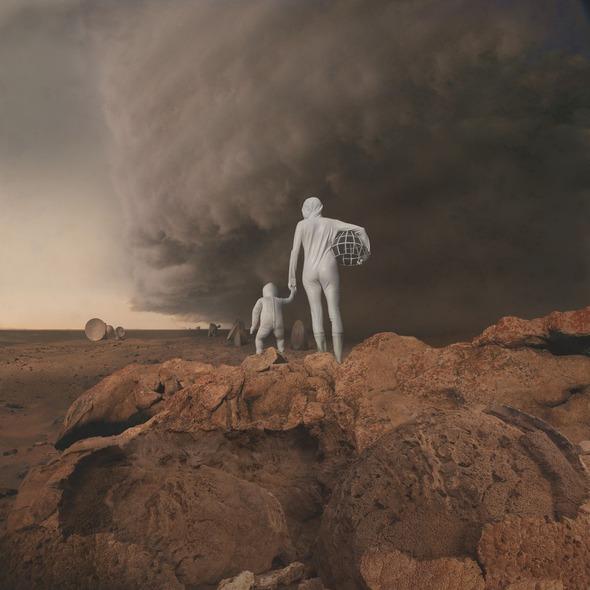По просьбе NASA художники изобразили жизнь первых женщин на Марсе. Изображение № 6.