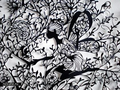 Необыкновенные кружева изобычной бумаги. Hina Aoyama. Изображение № 1.