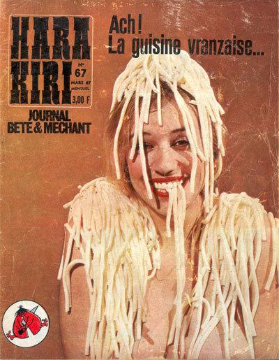 «Глупый излой» журнал Hara Kiri. Изображение № 2.
