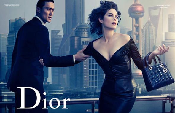 """Lady Dior: """"Lady Blue Shanghai"""" by David Lynch. Изображение № 1."""