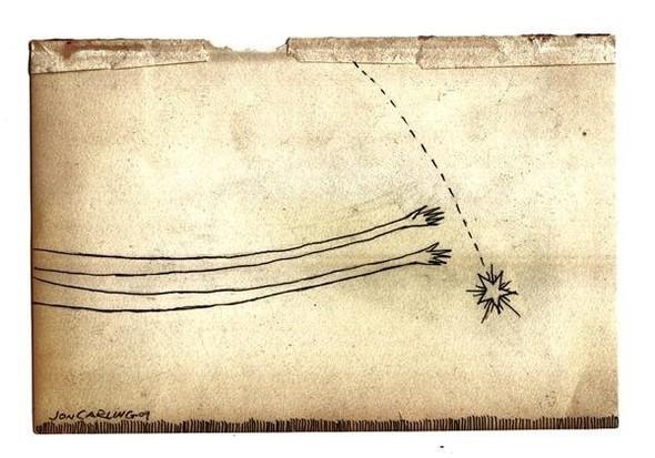 Jon Carling – мистерии в гелевой ручке. Изображение № 7.