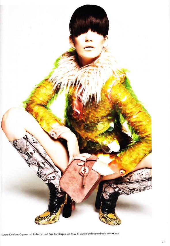Съёмка: Хана Бен Абдесслем и Валерия Келава для Vogue. Изображение № 10.
