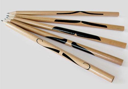 Подборка самых необычных и уникальных карандашей. Изображение № 1.