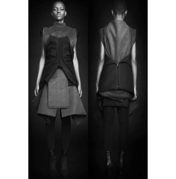 Изображение 37. Лукбуки: Bergdorf Goodman, Jaeger Black и Rad Hourani.. Изображение № 37.