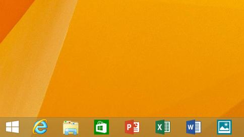Новый вид панели задач — с прикреплёнными приложениями для Windows 8. Изображение № 1.