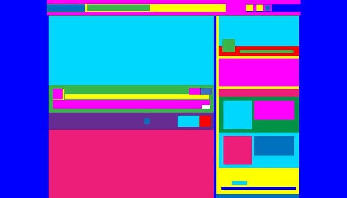 Тест: угадайте сайт по абстрактной картине на его основе. Изображение № 1.